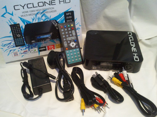 Recensione Cyclone HD